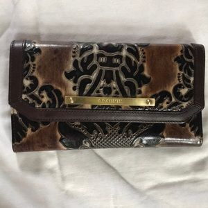 Authentic Brahmin Checkbook Wallet nwt